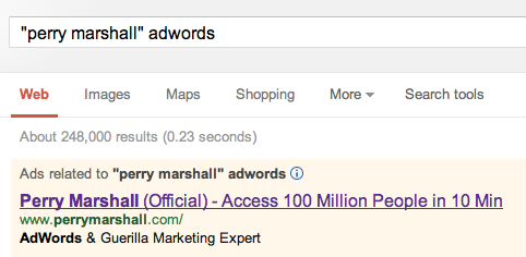 perrymarshalladwords google Writing for Influence, Authority and Impact